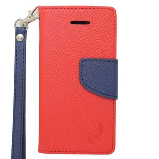Insten Leather Case Cover Lanyard with Stand/ Wallet Flap Pouch/ Photo Display For Apple iPhone 5/ 5S/ SE
