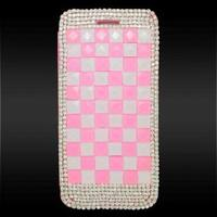 Insten 3D Leather Diamond Bling Case Cover with Wallet Flap Pouch For Apple iPhone 6/ 6s