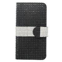 Insten Leather Diamond Bling Case Cover with Wallet Flap Pouch For Apple iPhone 6/ 6s
