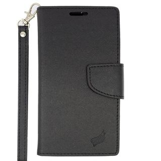 Insten Leather Case Cover Lanyard with Stand/ Wallet Flap Pouch/ Photo Display For Kyocera Hydro Wave