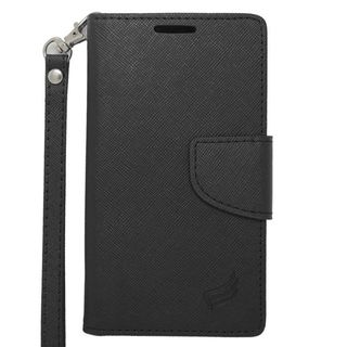 Insten Leather Case Cover Lanyard with Stand/ Wallet Flap Pouch/ Photo Display For LG Tribute