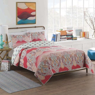 Vue Dreamcatcher Cotton Reversible Multi-piece Quilt Set
