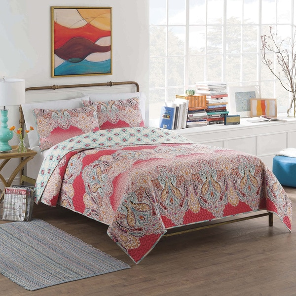 Vue Dreamcatcher Cotton Reversible Multi-piece Quilt Set - Free ...