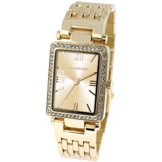 Rampage Women's Gold Bracelet Watch