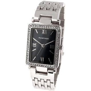 Rampage Ladies RP1044SL White Silver/Stainless Steel Japanese Quartz Bracelet Watch