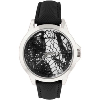 Rampage RP1019SLBK Ladies' Black Strap Watch