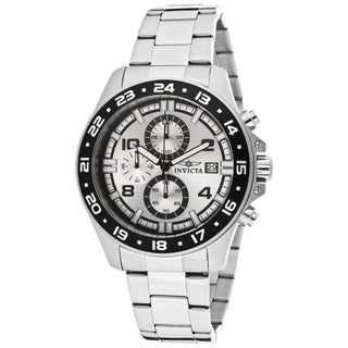 Invicta Men's 13866 Pro Diver Quartz Multifunction Silver Dial Watch