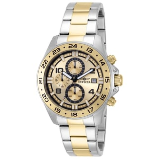Invicta Men's 13867 Pro Diver Quartz Multifunction Gold Dial Watch