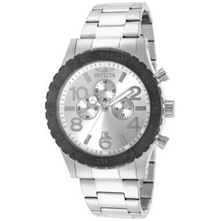 Invicta Men's 15159 Specialty Quartz Multifunction Silver Dial Watch