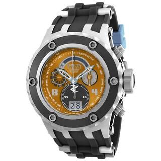 Invicta Men's 16253 Subaqua Quartz Multifunction Brown, Light Blue Dial Watch