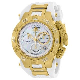 Invicta Women's 17235 Subaqua Quartz Chronograph White Dial Watch