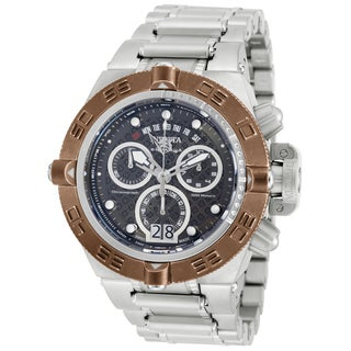 Invicta Men's 17609 Subaqua Quartz Chronograph Gunmetal Dial Watch