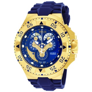Invicta Men's 18558 Excursion Quartz Multifunction Blue Dial Watch