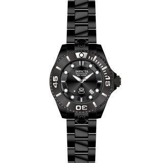 Invicta Men's 19810 Pro Diver Automatic 3 Hand Charcoal Dial Watch