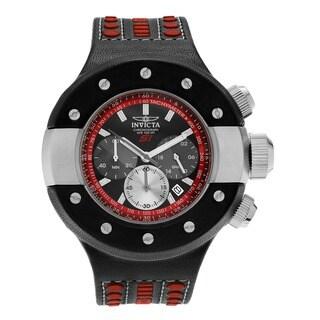 Invicta Men's 19174 S1 Rally Quartz Chronograph Black, Red, Gunmetal Dial Watch