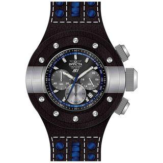 Invicta Men's 19176 S1 Rally Quartz Chronograph Black, Blue, Gunmetal Dial Watch