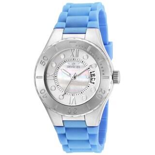 Invicta Women's 19392 Angel Quartz 3 Hand White Dial Watch