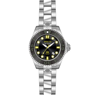 Invicta Men's 19797 Pro Diver Automatic 3 Hand Black Dial Watch