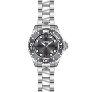 Invicta Men's 19801 Pro Diver Automatic 3 Hand Charcoal Dial Watch