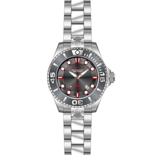 Invicta Men's 19802 Pro Diver Automatic 3 Hand Charcoal Dial Watch