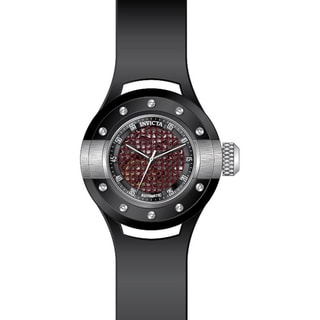 Invicta Men's 20102 S1 Rally Automatic 3 Hand Black, Red Dial Watch