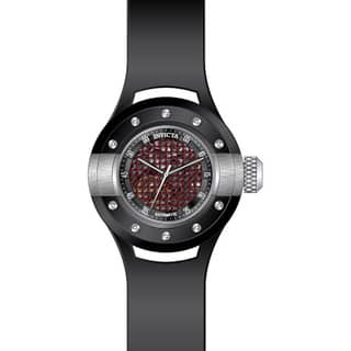 Invicta Men's 20102 S1 Rally Automatic 3 Hand Black, Red Dial Watch|https://ak1.ostkcdn.com/images/products/11932427/P18821391.jpg?impolicy=medium