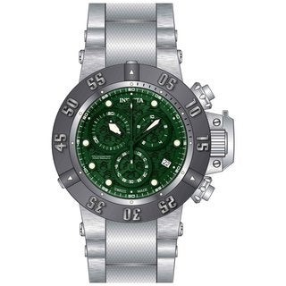 Invicta Men's 20157 Subaqua Quartz Multifunction Green Dial Watch