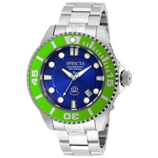 Invicta Men's 20173 Pro Diver Automatic 3 Hand Blue Dial Watch