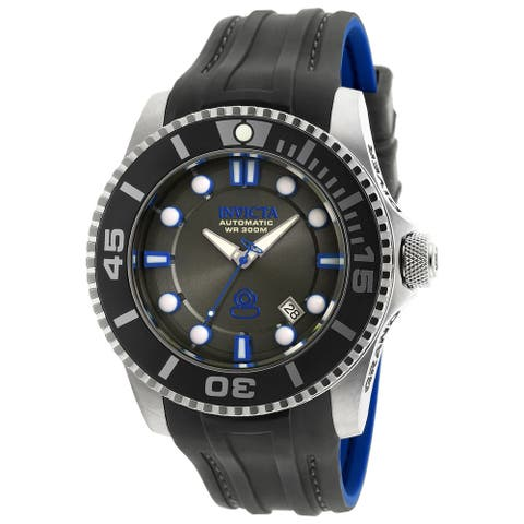 Invicta Men's 20200 Pro Diver Automatic 3 Hand Charcoal Dial Watch