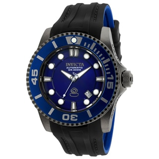 Invicta Men's 20204 Pro Diver Automatic 3 Hand Blue Dial Watch