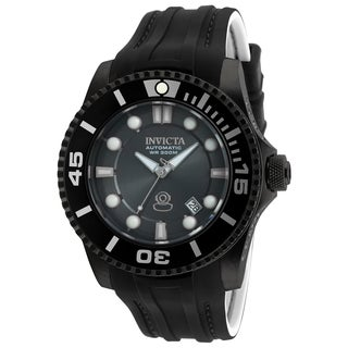 Invicta Men's 20206 Pro Diver Automatic 3 Hand Charcoal Dial Watch