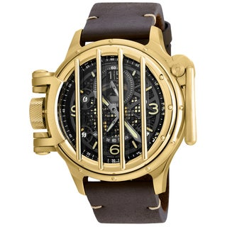 Invicta Men's 20255 Vintage Quartz Multifunction Black Dial Watch