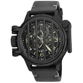 Invicta Men's 20256 Vintage Quartz Multifunction Black Dial Watch