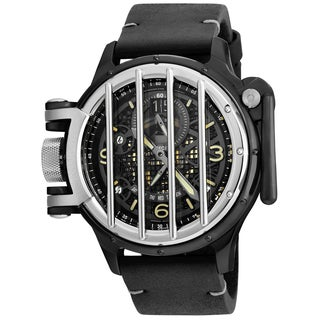 Invicta Men's 20257 Vintage Quartz Multifunction Black Dial Watch
