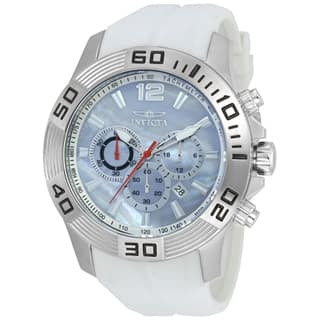 Invicta Men's 20297 Pro Diver Quartz Chronograph Platinum Dial Watch|https://ak1.ostkcdn.com/images/products/11933533/P18822408.jpg?impolicy=medium
