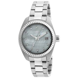 Invicta Women's 20351 Specialty Quartz 3 Hand White Dial Watch|https://ak1.ostkcdn.com/images/products/11933555/P18822418.jpg?impolicy=medium