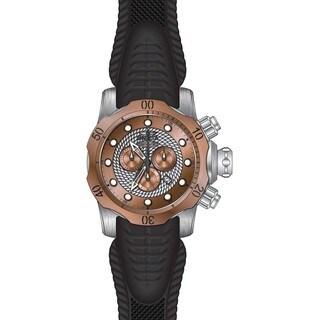Invicta Men's 20442 Venom Quartz Chronograph Silver, Rose Gold Dial Watch