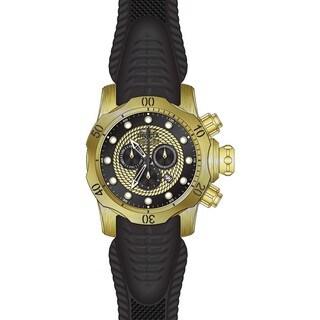 Invicta Men's 20443 Venom Quartz Chronograph Black, Gold Dial Watch