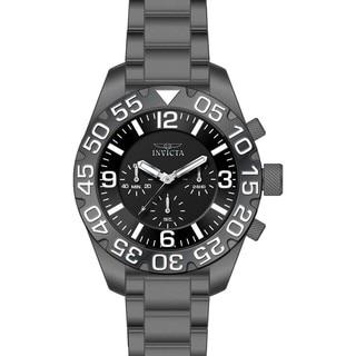 Invicta Men's 20455 TI-22 Quartz Multifunction Black Dial Watch
