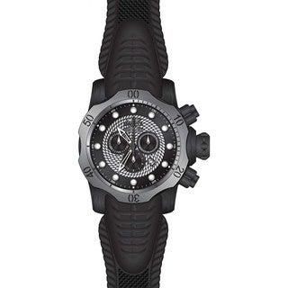 Invicta Men's 20446 Venom Quartz Chronograph Black, Silver Dial Watch