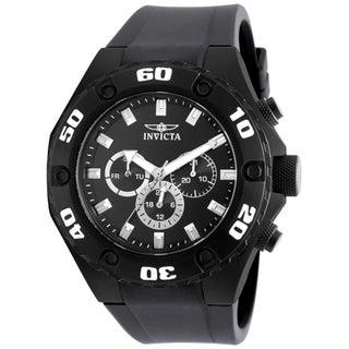 Invicta Men's 21459 Specialty Quartz Multifunction Black Dial Watch