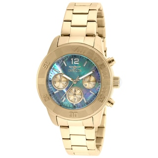 Invicta Women's 21612 Angel Quartz Chronograph Platinum Dial Watch