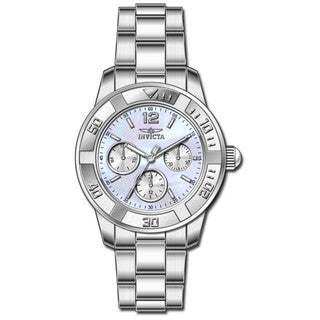 Invicta Women's 21663 Angel Quartz Chronograph Platinum Dial Watch