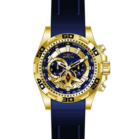Invicta Men's 21737 Aviator Quartz Multifunction Blue Dial Watch