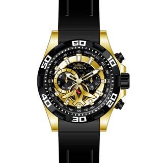 Invicta Men's 21739 Aviator Quartz Multifunction Black Dial Watch