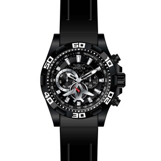 Invicta Men's 21741 Aviator Quartz Multifunction Black Dial Watch