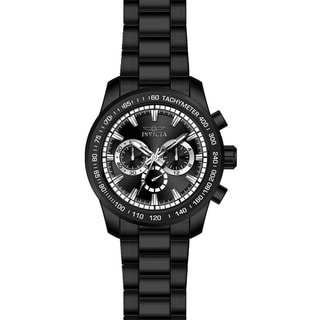 Invicta Men's 21815 Speedway Quartz Chronograph Black Dial Watch