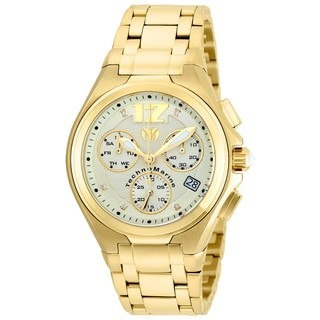 Technomarine Men's TM-215015 Manta Neo Classic Quartz Gold Dial Watch