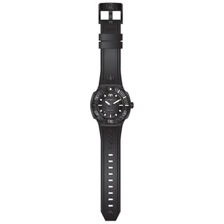 Technomarine Men's TM-515012 Black Reef Quartz Black Dial Watch