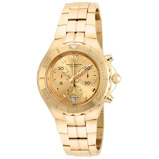 Technomarine Men's TM-715004 Sea Pearl Quartz Gold Dial Watch